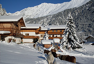Residence Rainer in inverno